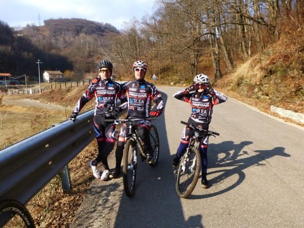 Tour dell'alto Vergante - 16 marzo 2013 - Ghevio - Mauro Rebeschi - Biagio Celozzi - Angela Agazzone